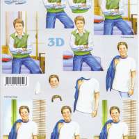 3D Schneidebogen - Le Suh - Teenager Boy